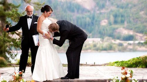 Беременность и свадебное торжество