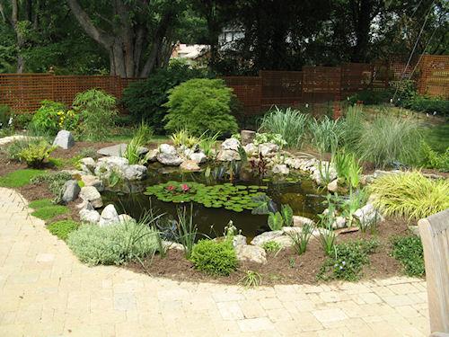 Строим декоративный водоем