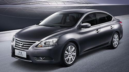 Nissan Sylphy нового поколения