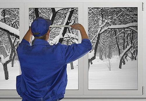 Поставить окна зимой — не проблема!