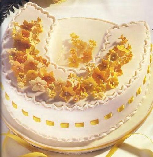 Торт «Подкова на счастье»