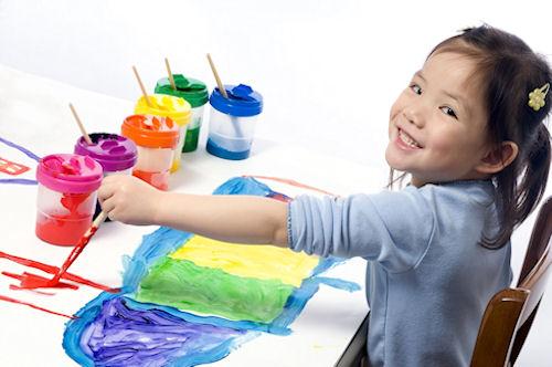 Учим ребенка раскрашивать рисунки