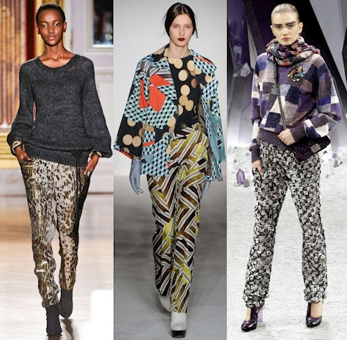 Женский ремень и традиционные брюки