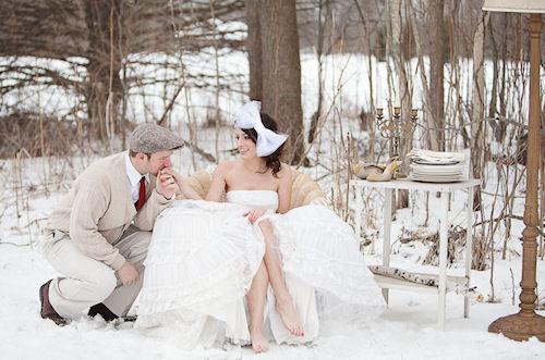 Зимняя свадьба. Плюсы и минусы.