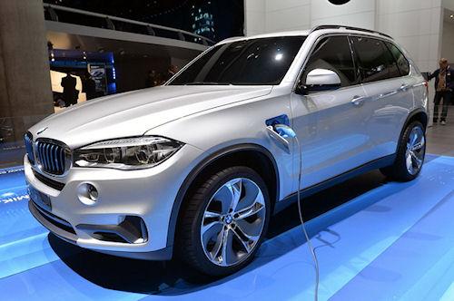 Гибридный BMW X5: экологичная альтернатива или автомобиль будущего