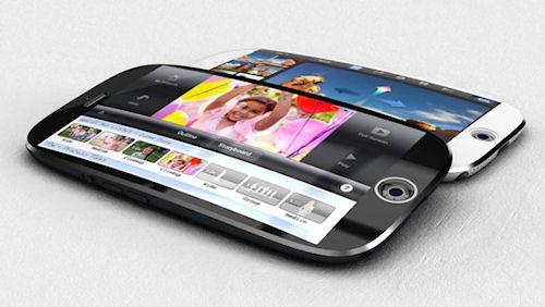 Вскоре ожидается появление смартфона с изогнутым дисплеем