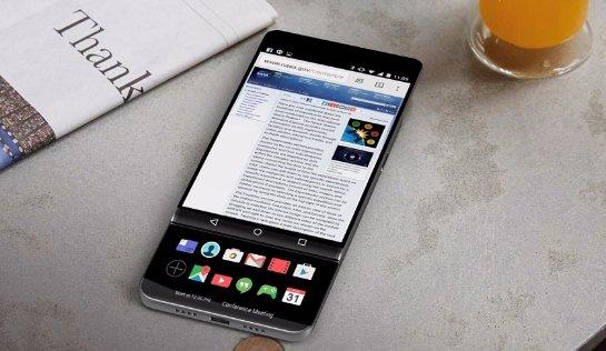 Неанонсированный LG V30 станет сенсорным слайдером с двумя экранами